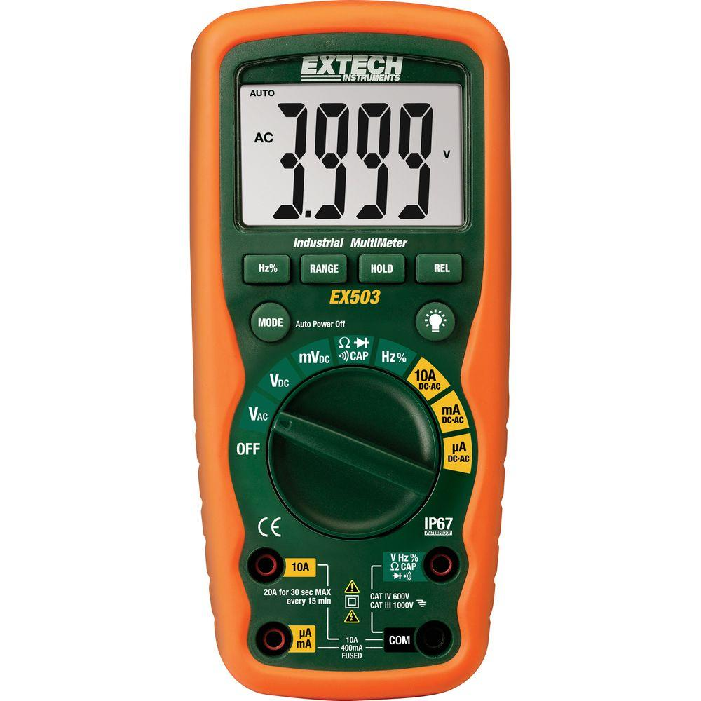 Heavy Duty Waterproof Multimeter