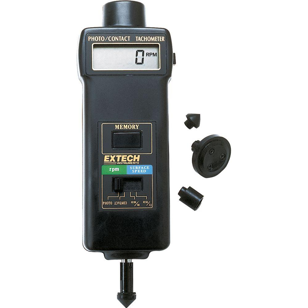 Combination Photo/Contact Tachometer with NIST