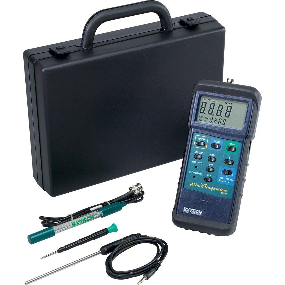 HD pH Temperature Meter Kit